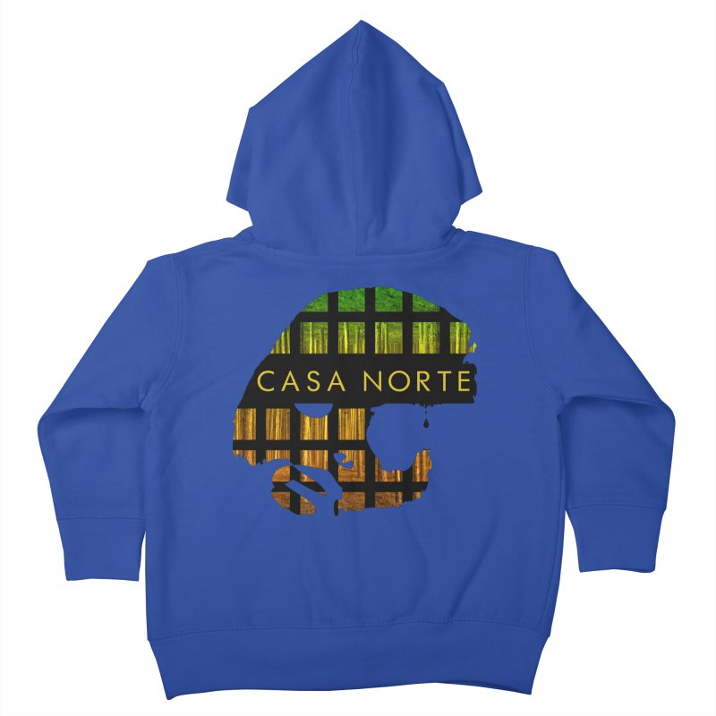CasaNorte- Oil Kids Toddler Zip-Up Hoody by Casa Norte's Artist Shop