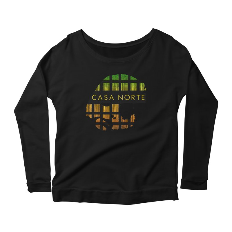 CasaNorte- Oil Women's Scoop Neck Longsleeve T-Shirt by Casa Norte's Artist Shop