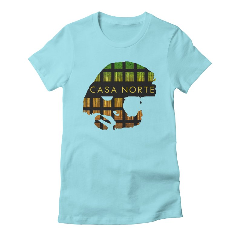 CasaNorte- Oil Women's Fitted T-Shirt by Casa Norte's Artist Shop