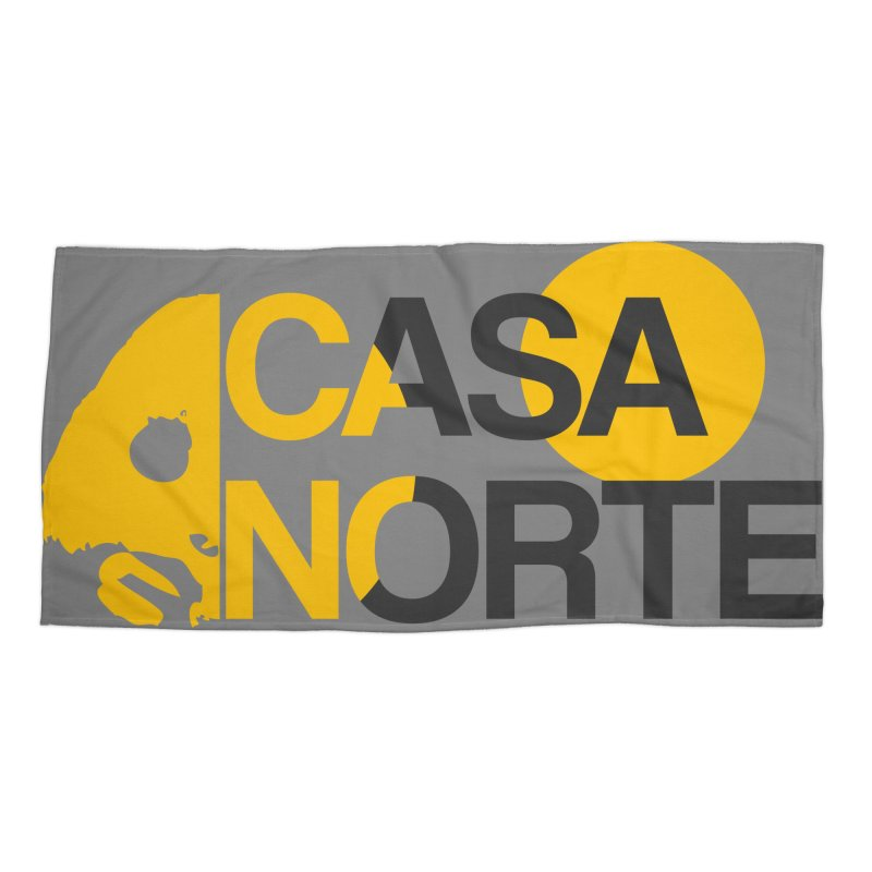 CasaNorte - HlfS Accessories Beach Towel by Casa Norte's Artist Shop