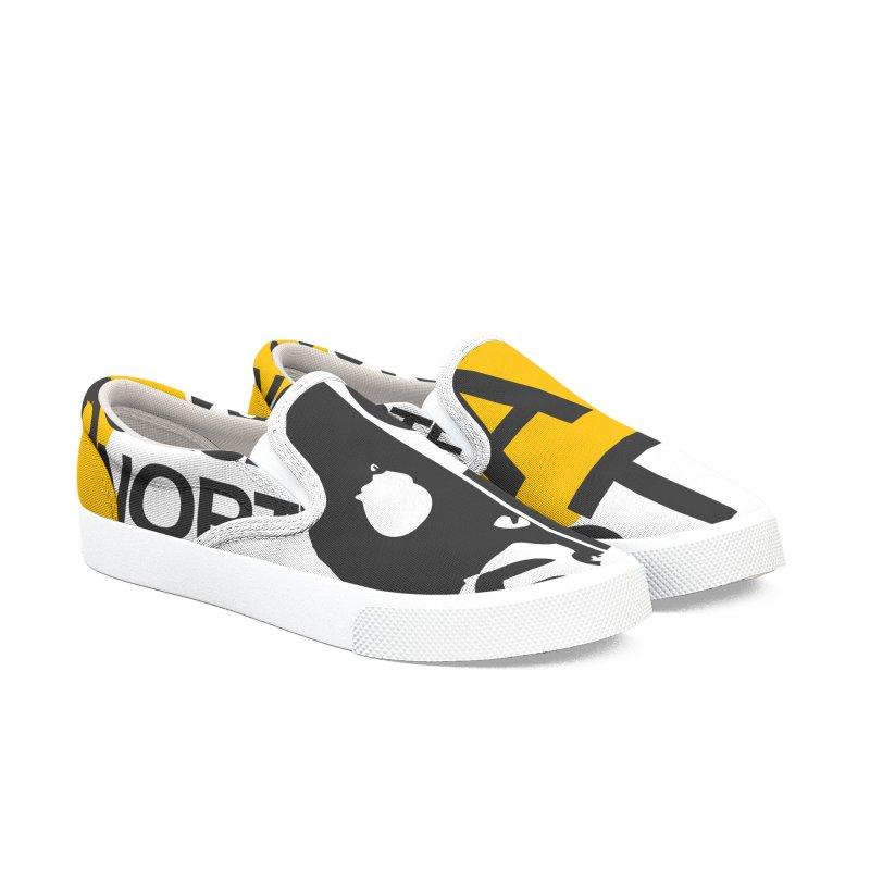 CasaNorte - HlfS Men's Slip-On Shoes by Casa Norte's Artist Shop
