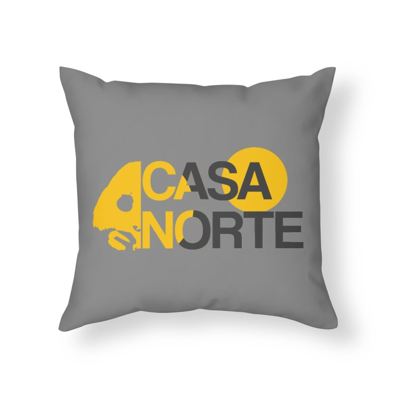 CasaNorte - HlfS Home Throw Pillow by Casa Norte's Artist Shop