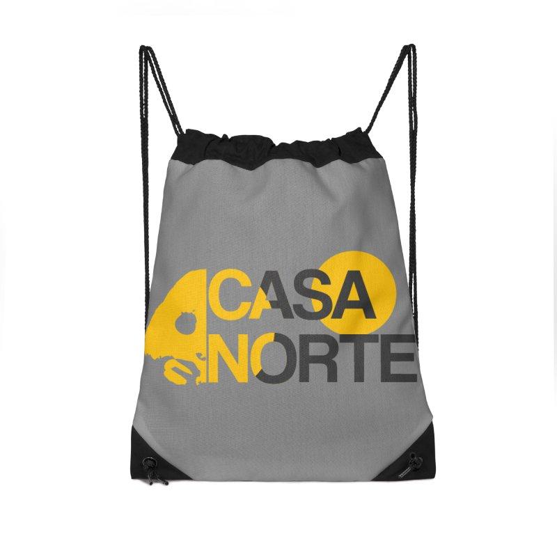 CasaNorte - HlfS Accessories Drawstring Bag Bag by Casa Norte's Artist Shop