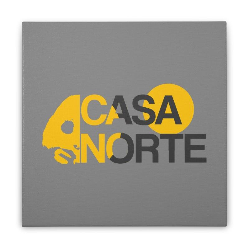 CasaNorte - HlfS Home Stretched Canvas by Casa Norte's Artist Shop