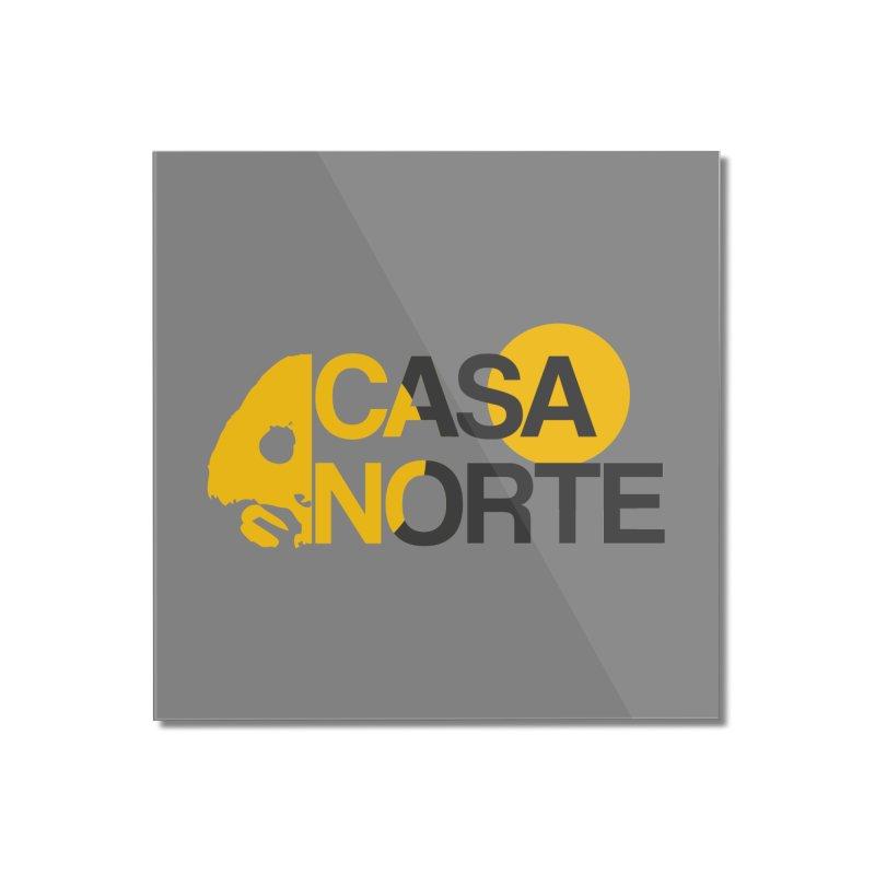 CasaNorte - HlfS Home Mounted Acrylic Print by Casa Norte's Artist Shop