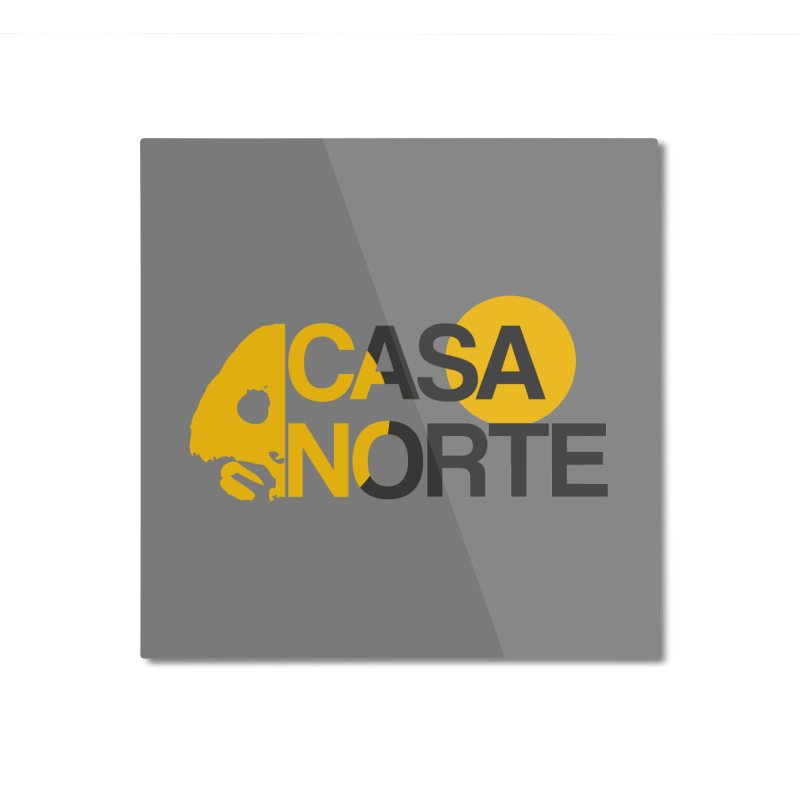 CasaNorte - HlfS Home Mounted Aluminum Print by Casa Norte's Artist Shop