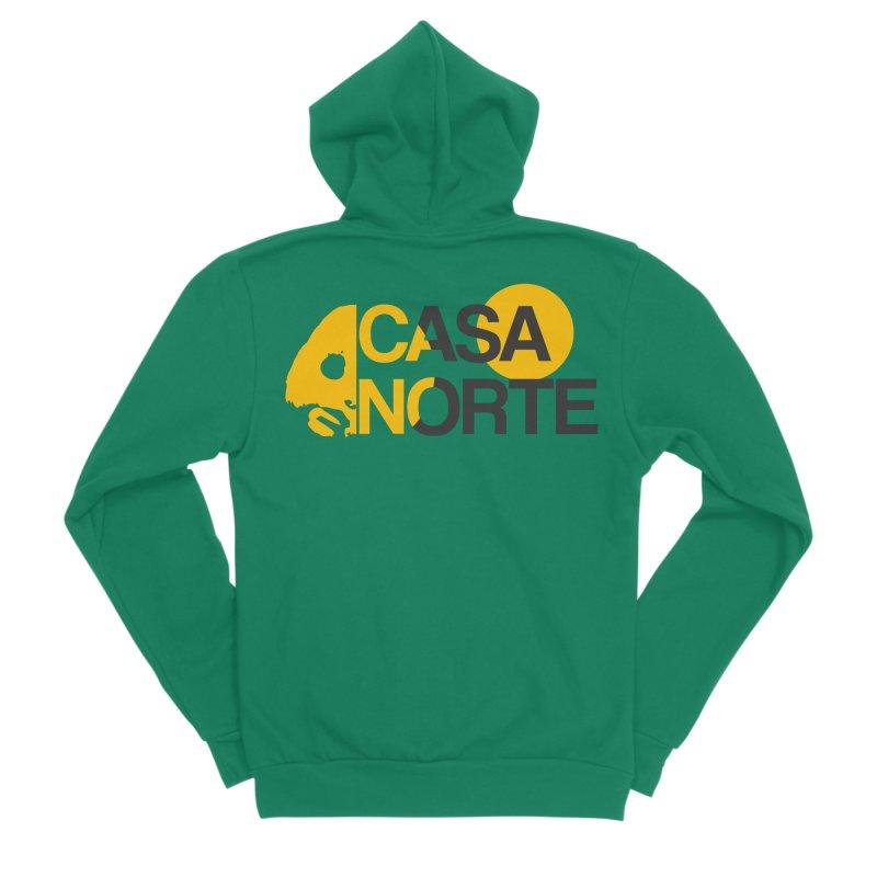 CasaNorte - HlfS Women's Sponge Fleece Zip-Up Hoody by Casa Norte's Artist Shop