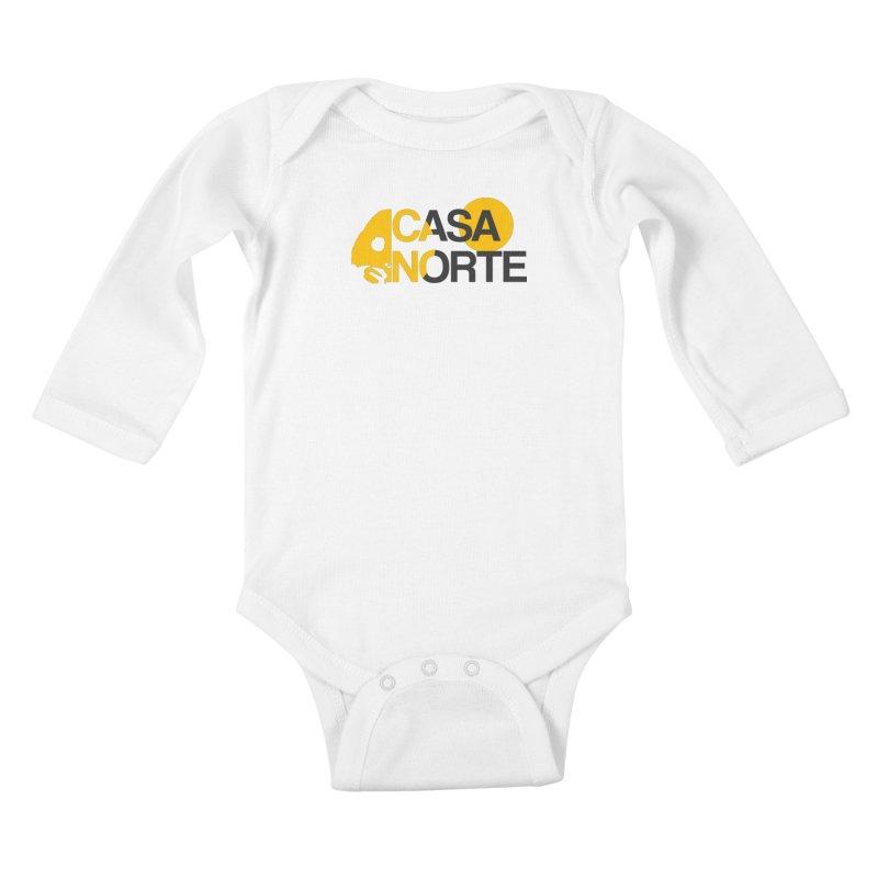 CasaNorte - HlfS Kids Baby Longsleeve Bodysuit by Casa Norte's Artist Shop