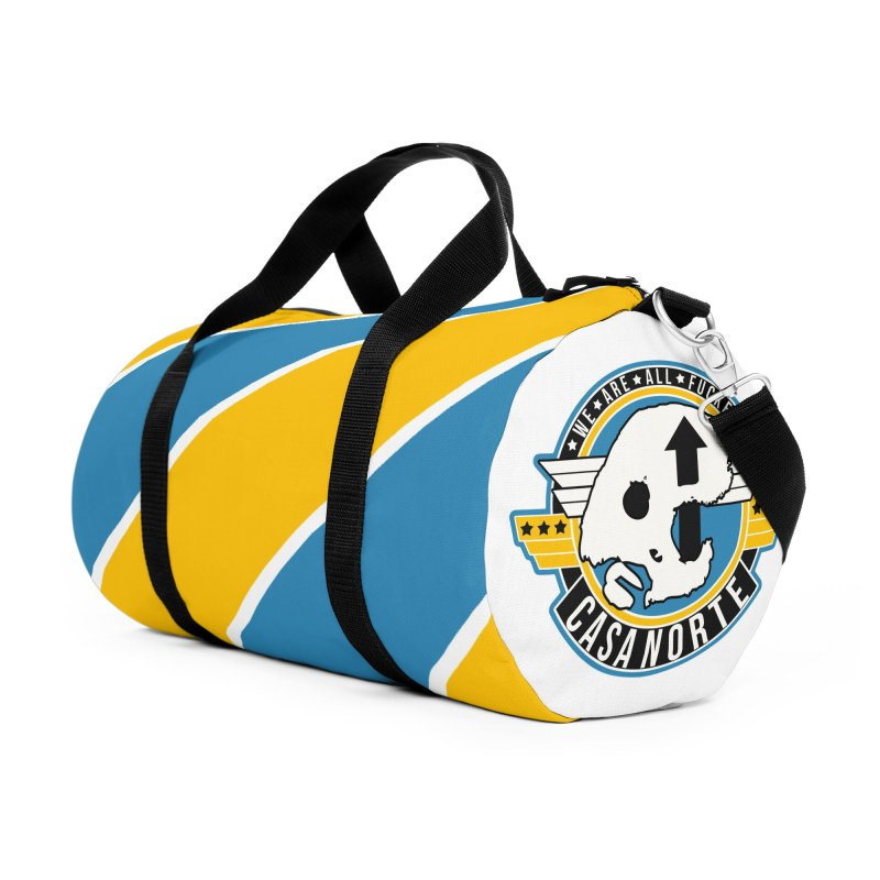 CasaNorte - Fly Accessories Duffel Bag Bag by Casa Norte's Artist Shop