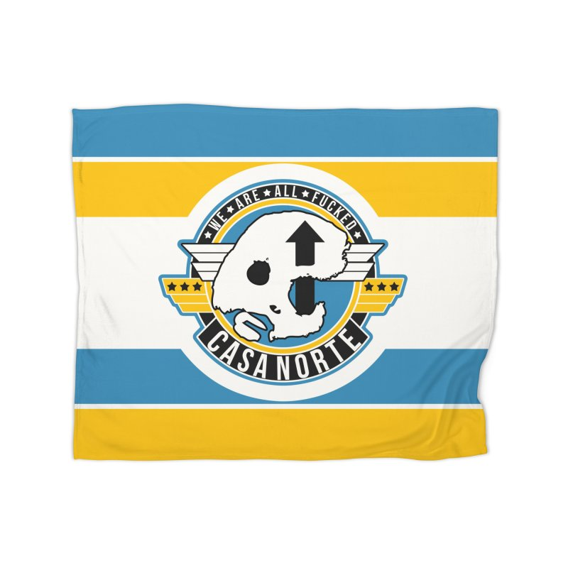 CasaNorte - Fly Home Fleece Blanket Blanket by Casa Norte's Artist Shop