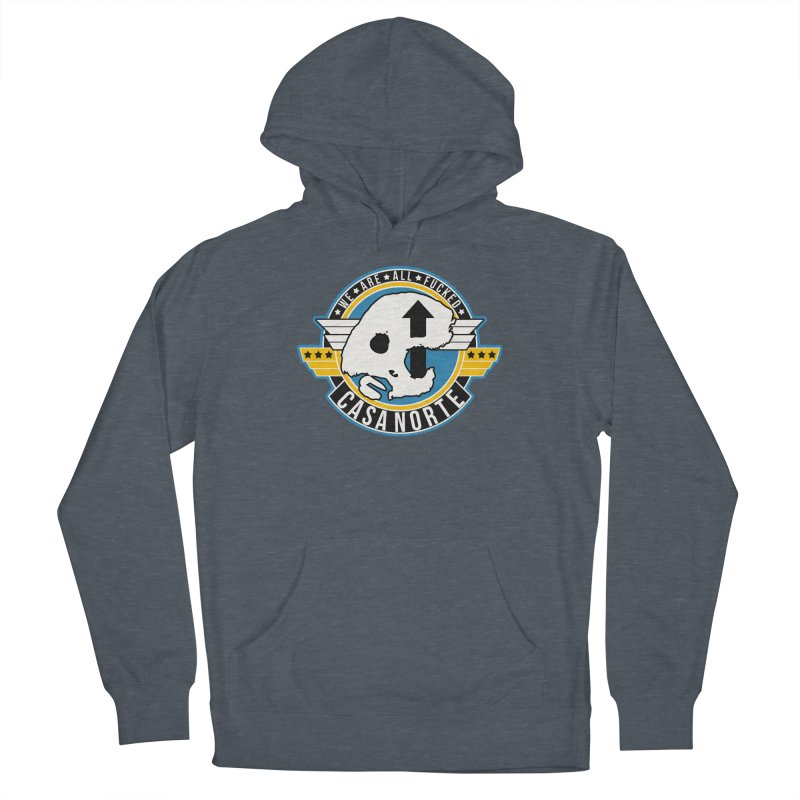 CasaNorte - Fly Women's French Terry Pullover Hoody by Casa Norte's Artist Shop