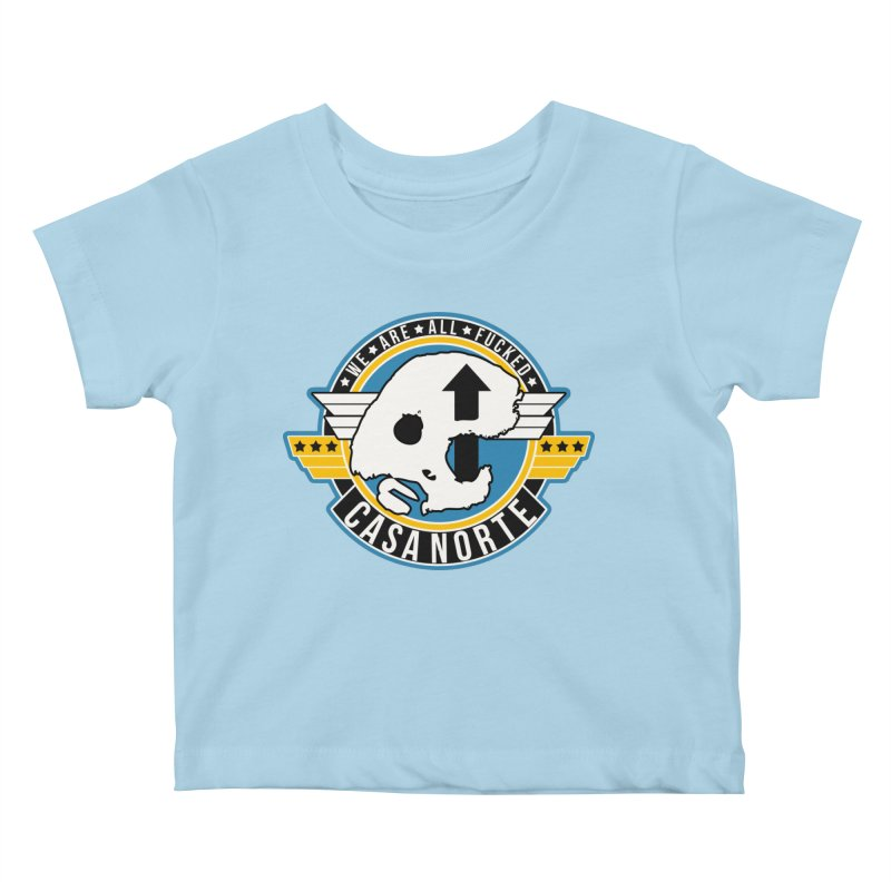 CasaNorte - Fly Kids Baby T-Shirt by Casa Norte's Artist Shop