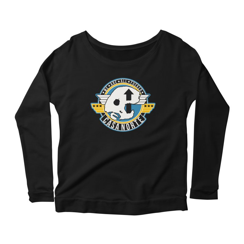 CasaNorte - Fly Women's Scoop Neck Longsleeve T-Shirt by Casa Norte's Artist Shop