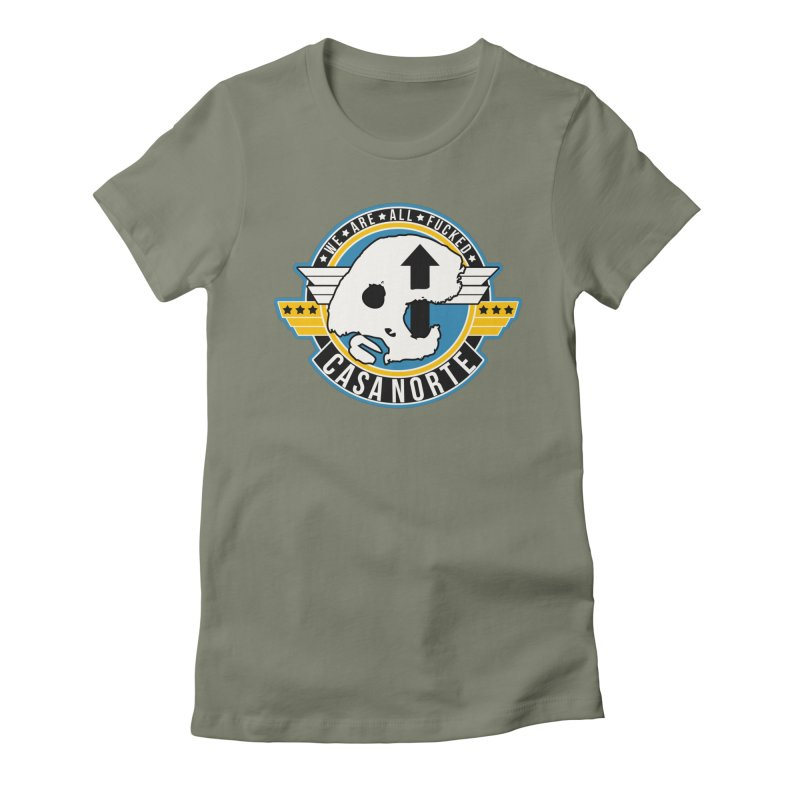 CasaNorte - Fly Women's Fitted T-Shirt by Casa Norte's Artist Shop