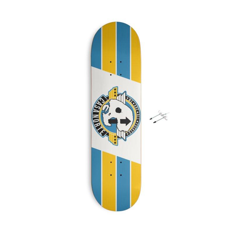 CasaNorte - Fly Accessories With Hanging Hardware Skateboard by Casa Norte's Artist Shop