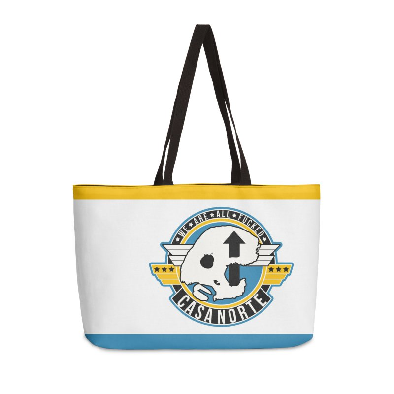 CasaNorte - Fly Accessories Weekender Bag Bag by Casa Norte's Artist Shop