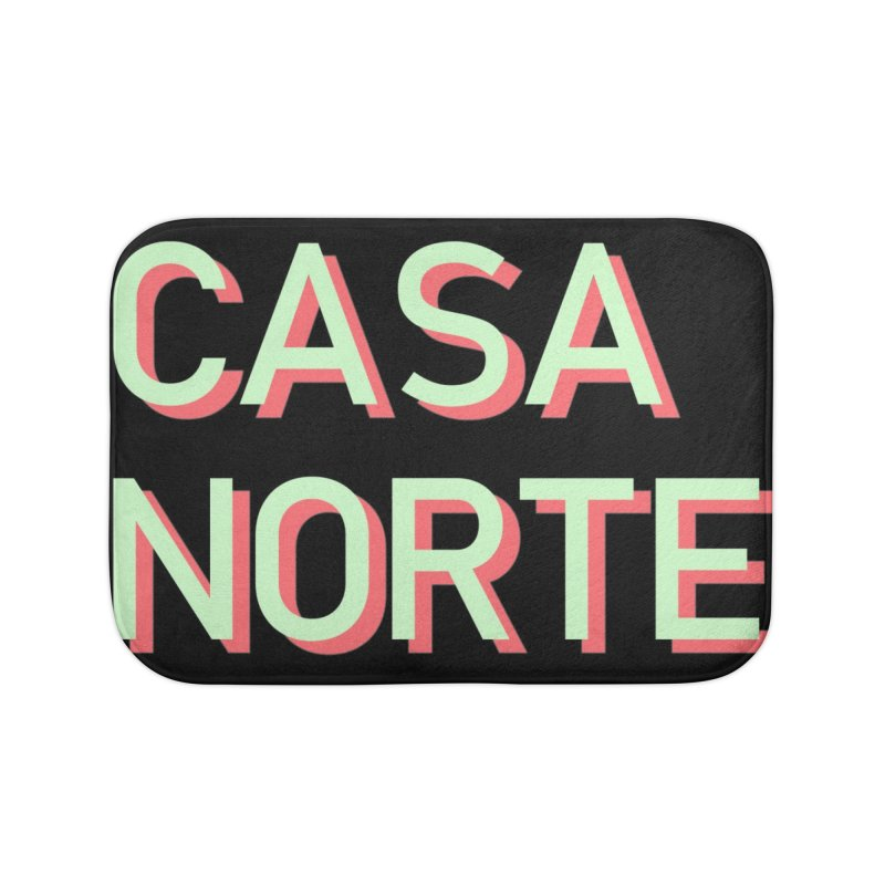 CasaNorte - Mint Home Bath Mat by Casa Norte's Artist Shop