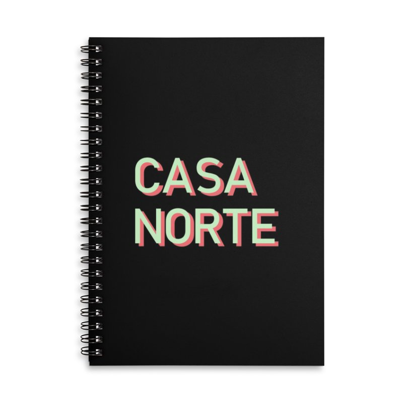CasaNorte - Mint Accessories Notebook by Casa Norte's Artist Shop