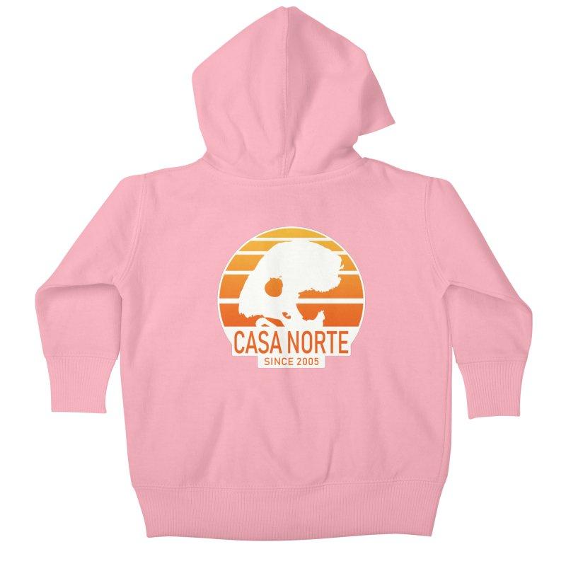 CasaNorte - SunRise Kids Baby Zip-Up Hoody by Casa Norte's Artist Shop