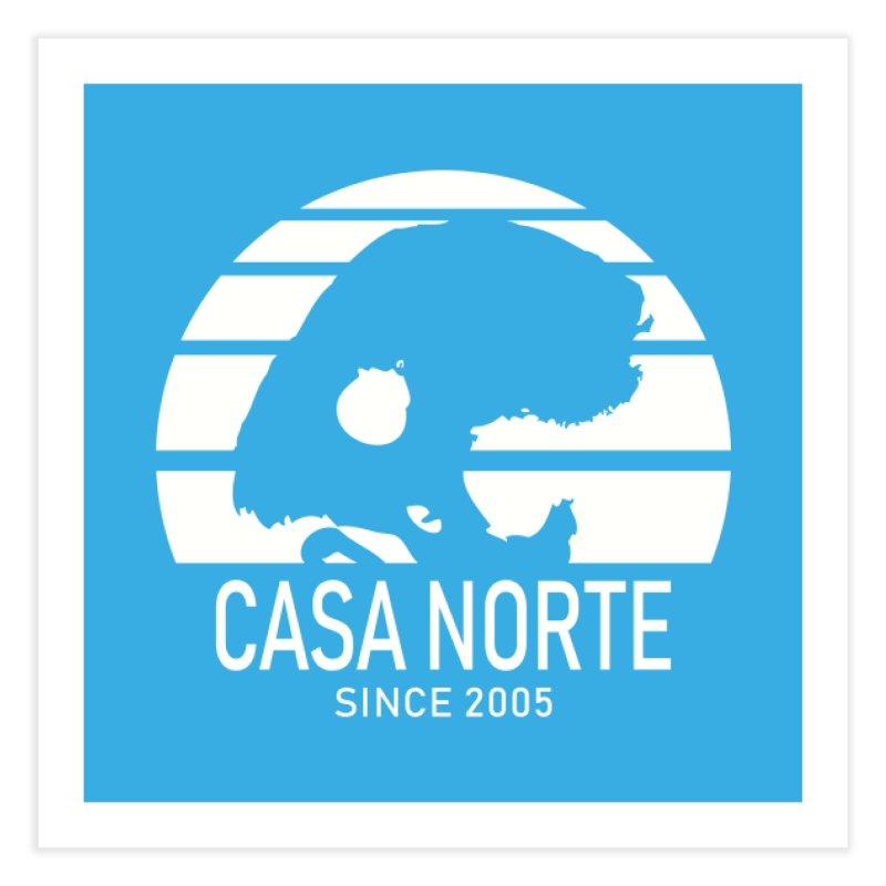 CasaNorte - SunRiseW Home Fine Art Print by Casa Norte's Artist Shop