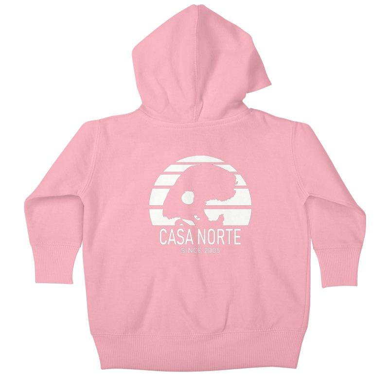 CasaNorte - SunRiseW Kids Baby Zip-Up Hoody by Casa Norte's Artist Shop