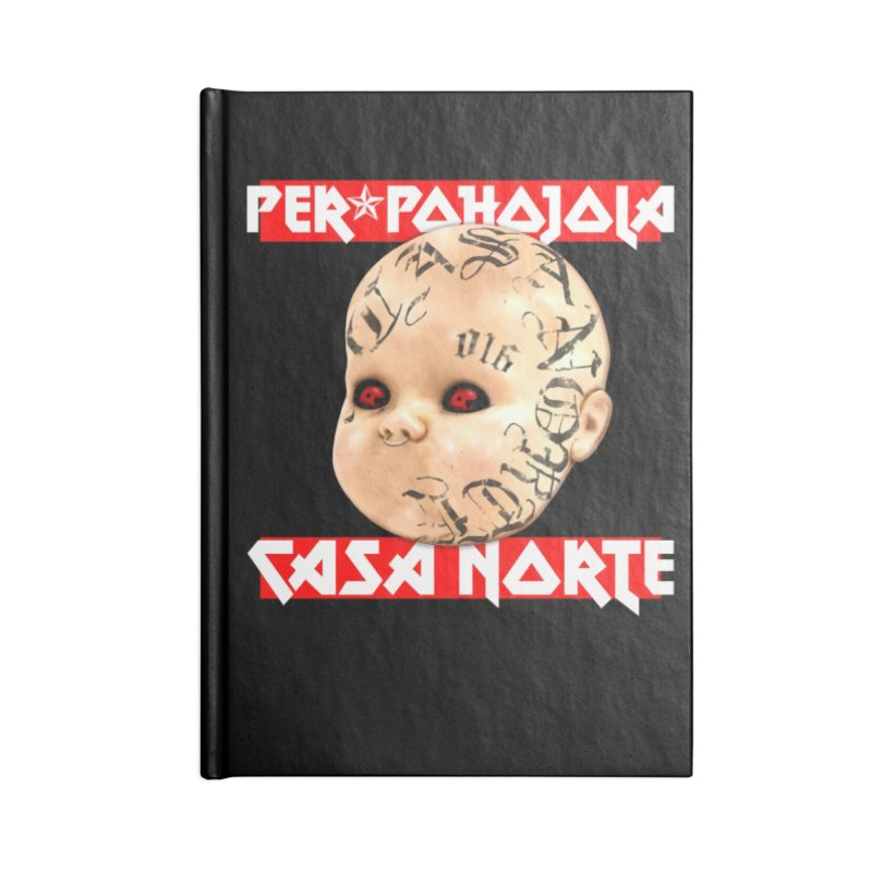 CasaNorte - Peräpohojola Accessories Notebook by Casa Norte's Artist Shop
