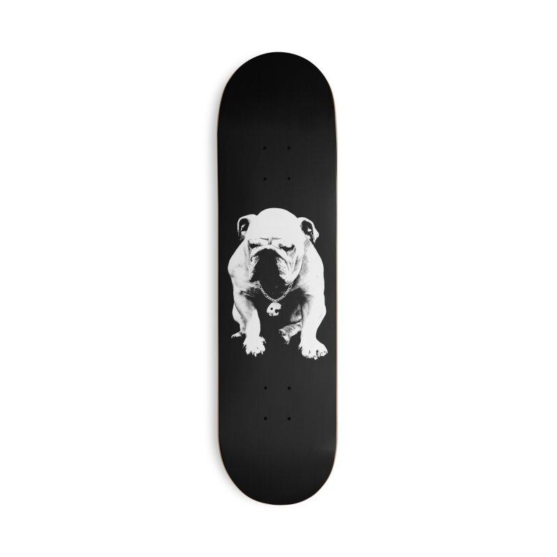 CasaNorte - BullDog Accessories Skateboard by Casa Norte's Artist Shop
