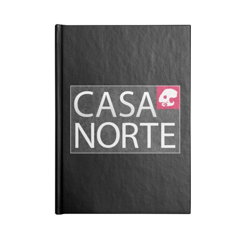 CasaNorte - LabelISO Accessories Notebook by Casa Norte's Artist Shop