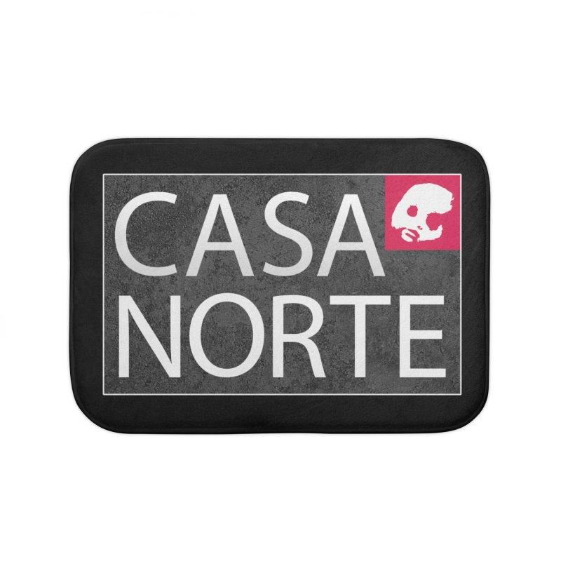 CasaNorte - LabelISO Home Bath Mat by Casa Norte's Artist Shop
