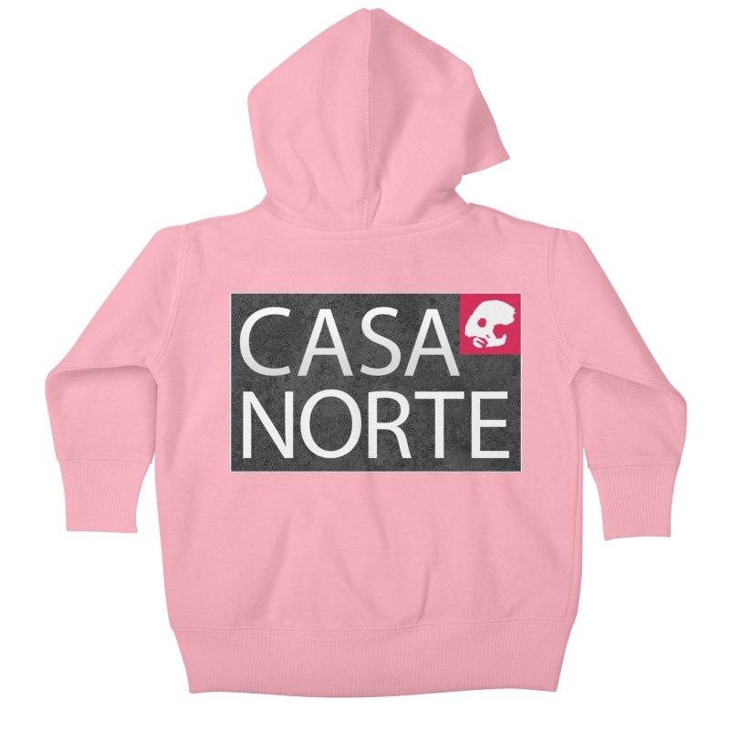 CasaNorte - LabelISO Kids Baby Zip-Up Hoody by Casa Norte's Artist Shop