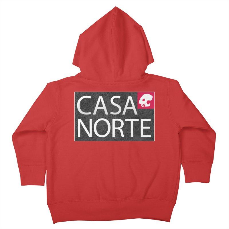 CasaNorte - LabelISO Kids Toddler Zip-Up Hoody by Casa Norte's Artist Shop