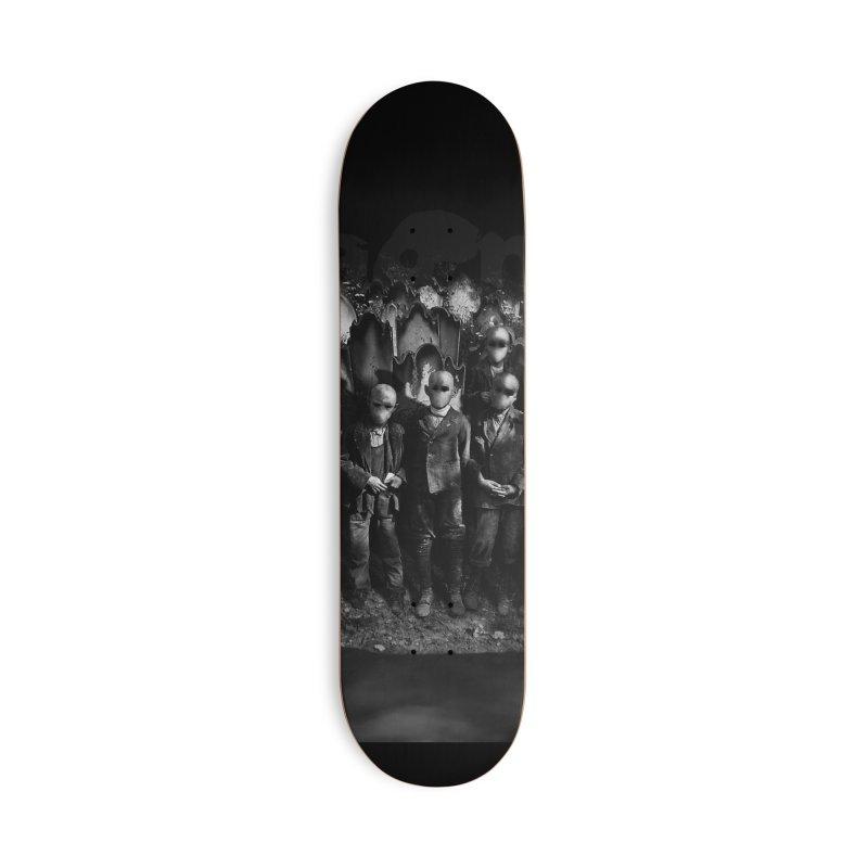 CasaNorte - FerryMan Accessories Skateboard by Casa Norte's Artist Shop
