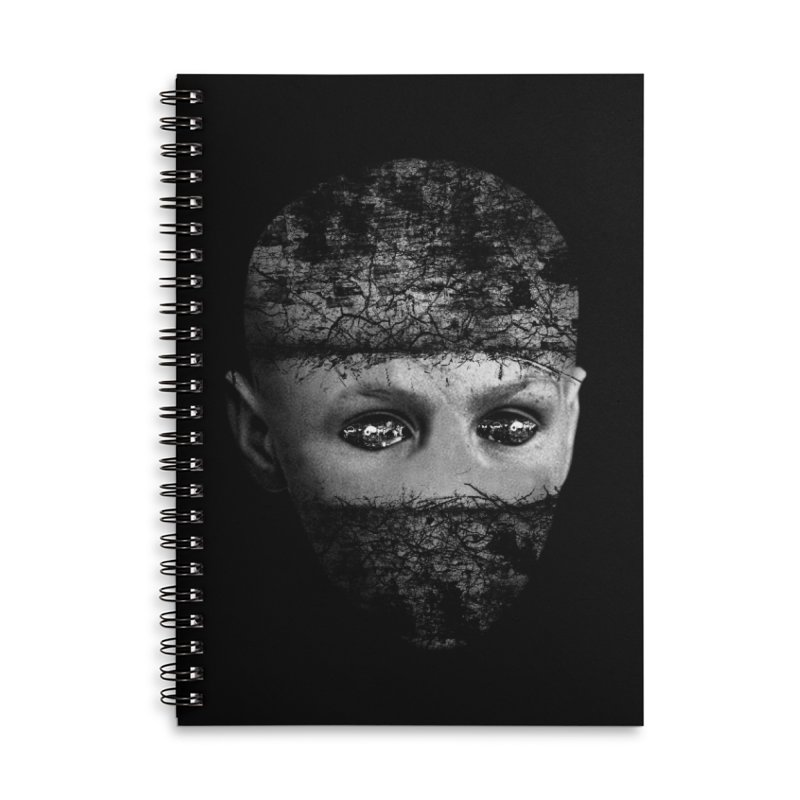 CasaNorte - FaceEye Accessories Notebook by Casa Norte's Artist Shop