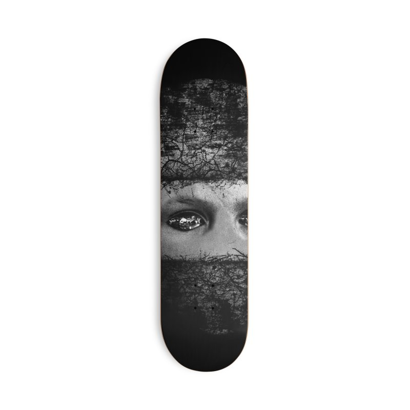 CasaNorte - FaceEye Accessories Skateboard by Casa Norte's Artist Shop