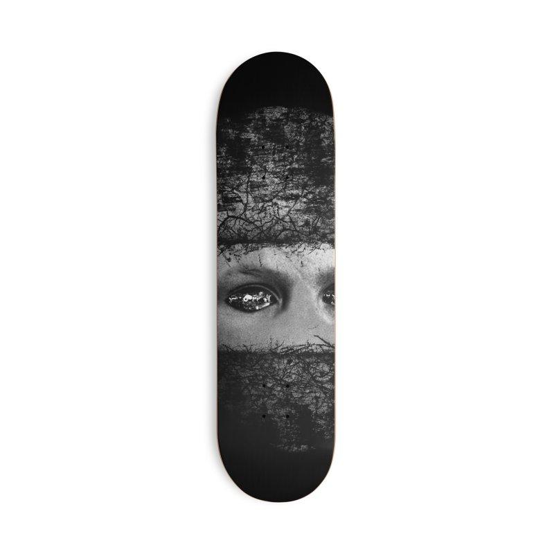 CasaNorte - FaceEye Accessories Skateboard by Casa Norte's Artist Shop