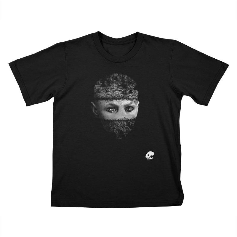 CasaNorte - FaceEye Kids T-Shirt by Casa Norte's Artist Shop