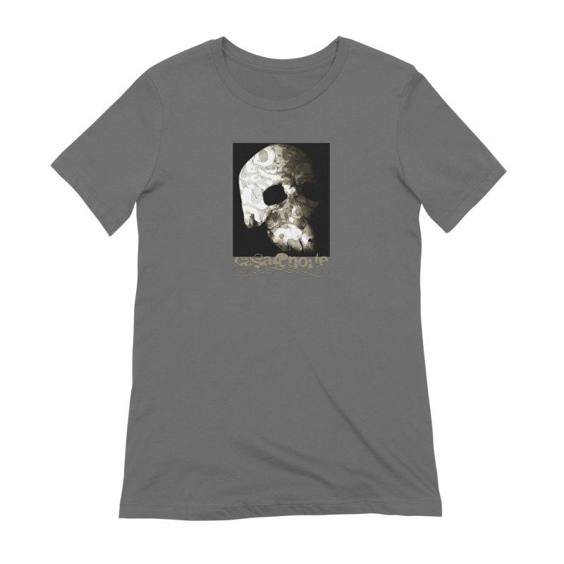 CasaNorte - TextSkullV Women's T-Shirt by CasaNorte's Artist Shop