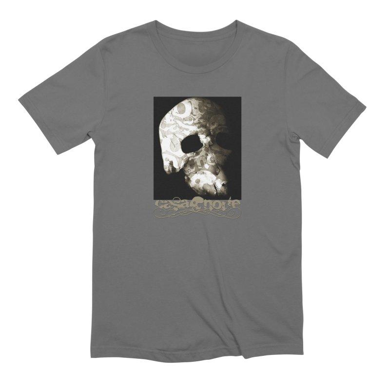 CasaNorte - TextSkullV Men's T-Shirt by CasaNorte's Artist Shop