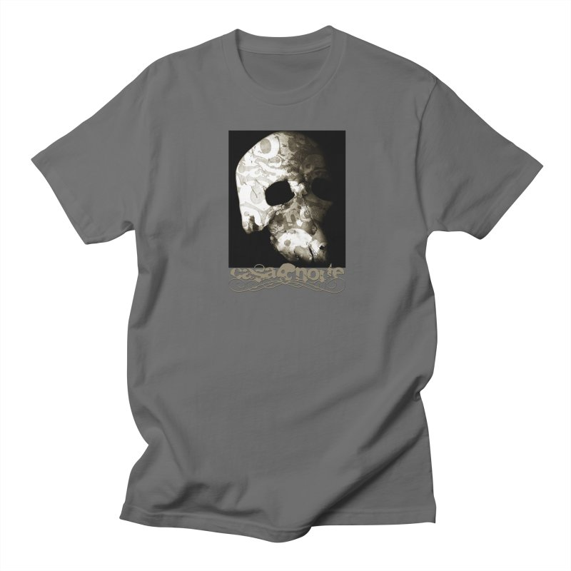 CasaNorte - TextSkullV Men's T-Shirt by Casa Norte's Artist Shop