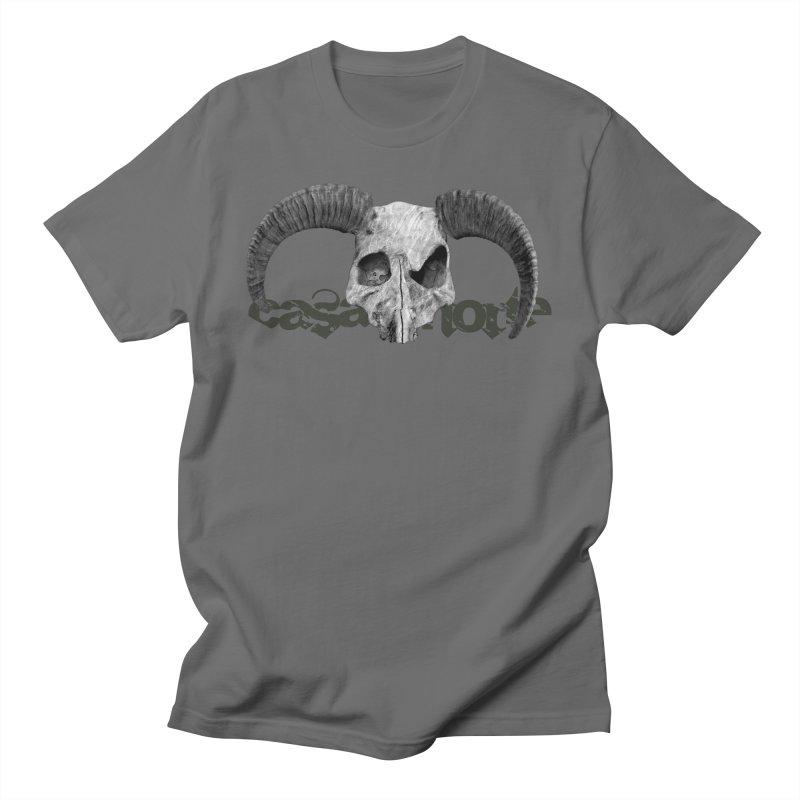 CasaNorte - SkullHorn Men's T-Shirt by Casa Norte's Artist Shop