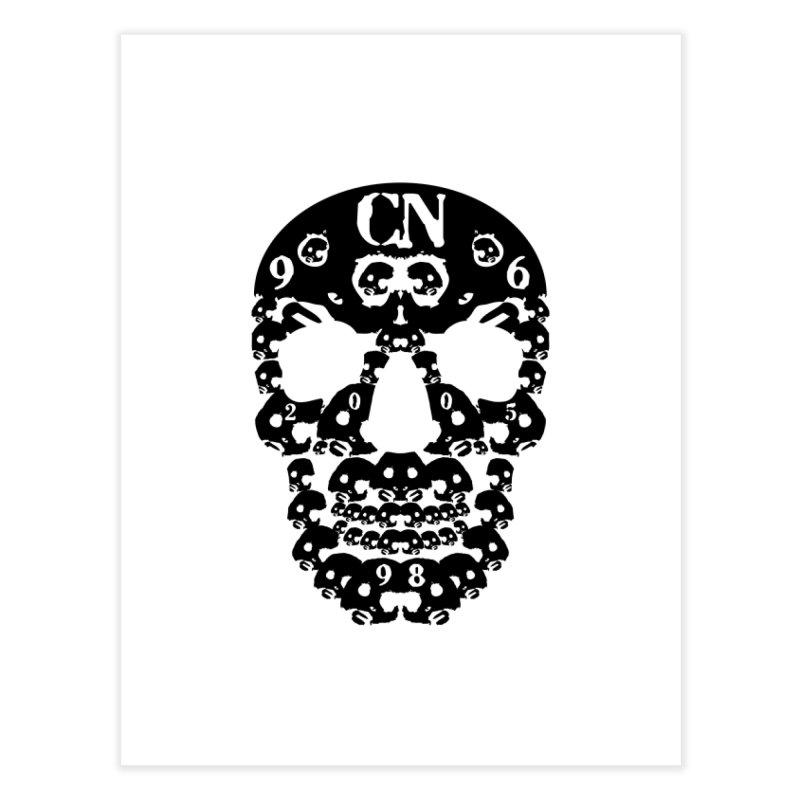 CasaNorte - CN SkullB Home Fine Art Print by Casa Norte's Artist Shop