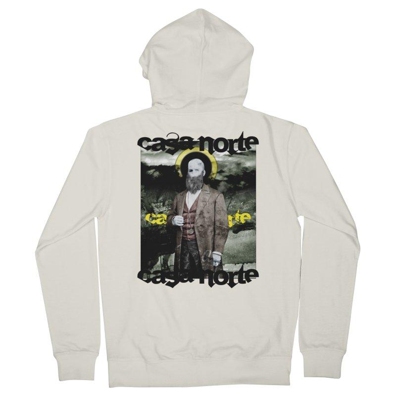 CasaNorte - OneEyeV Men's Zip-Up Hoody by Casa Norte's Artist Shop
