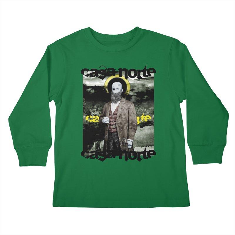 CasaNorte - OneEyeV Kids Longsleeve T-Shirt by Casa Norte's Artist Shop