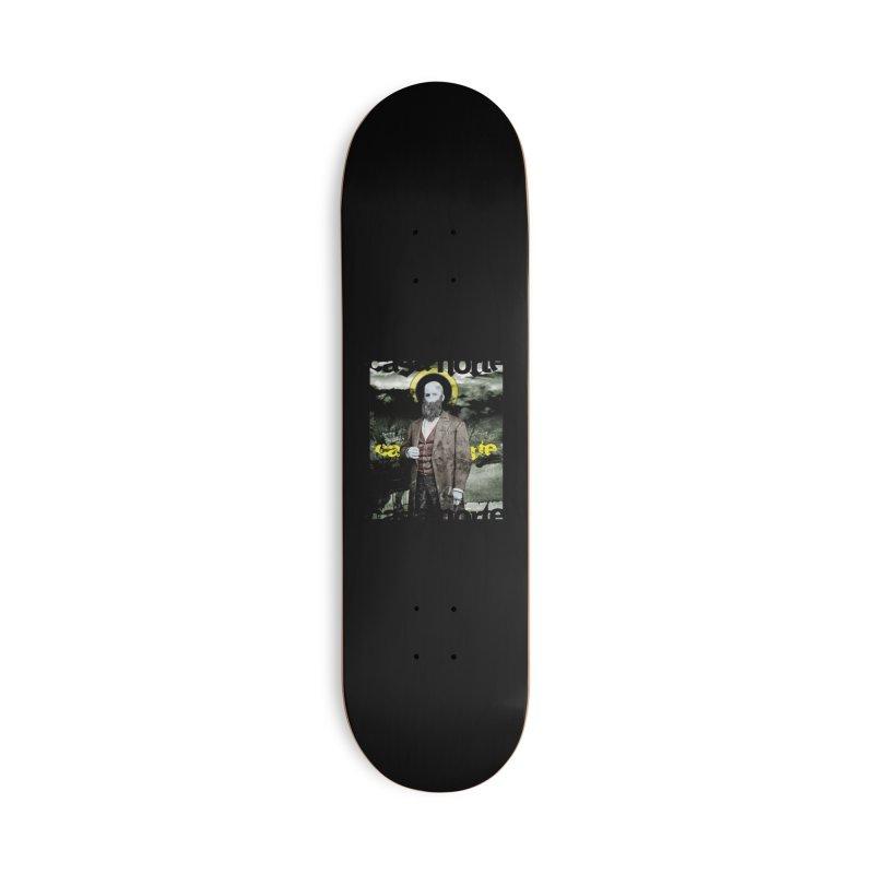 CasaNorte - OneEyeV Accessories Skateboard by Casa Norte's Artist Shop