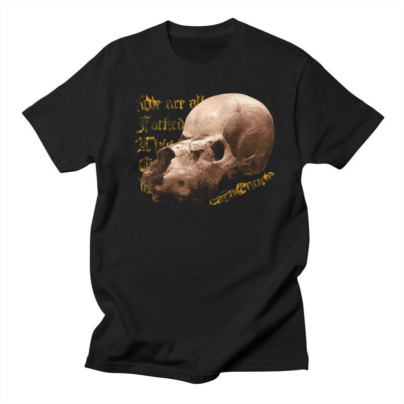 CasaNorte - SkullLongV Men's T-Shirt by Casa Norte's Artist Shop