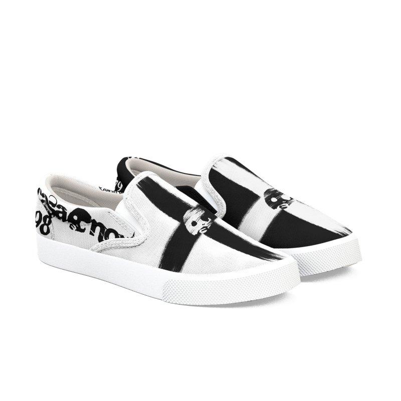 CasaNorte - CrossB Women's Slip-On Shoes by CasaNorte's Artist Shop