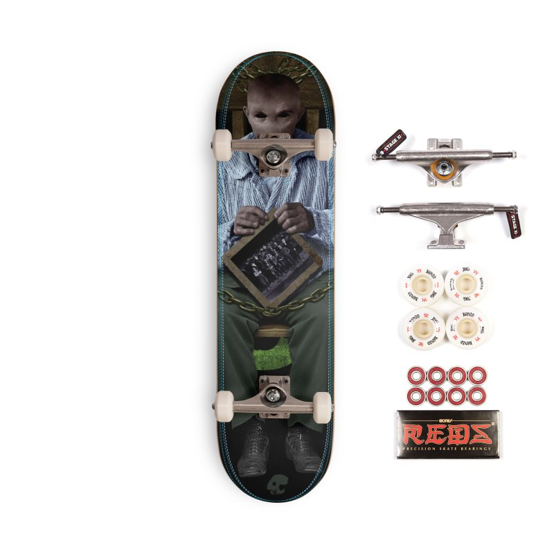 CasaNorte - KnotV Accessories Skateboard by Casa Norte's Artist Shop