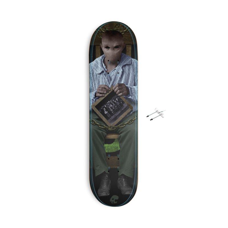 CasaNorte - KnotV Accessories Skateboard by Casa Norte's Artist Shop