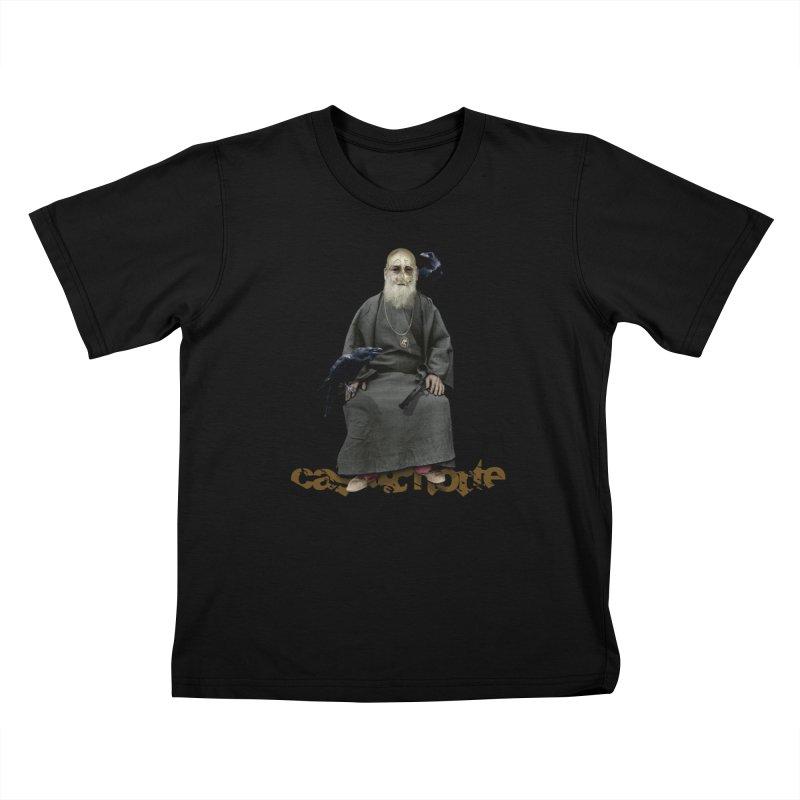 CasaNorte - CrowV Kids T-Shirt by Casa Norte's Artist Shop