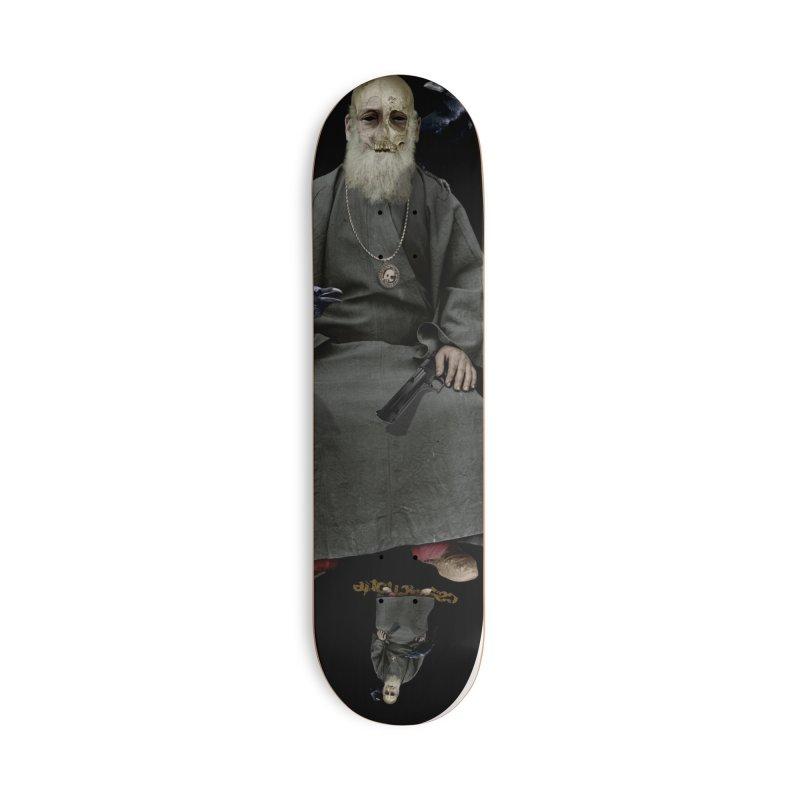 CasaNorte - CrowV Accessories Skateboard by Casa Norte's Artist Shop